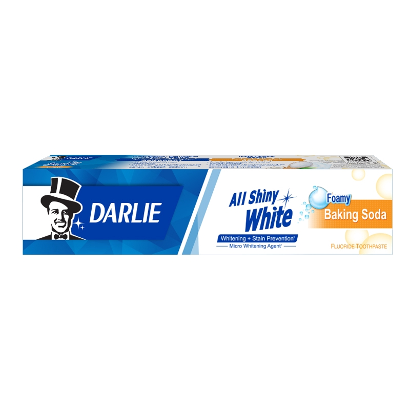 Darlie All Shiny White Baking Soda Toothpaste X 6 FREE 3 Sanrio Bottle