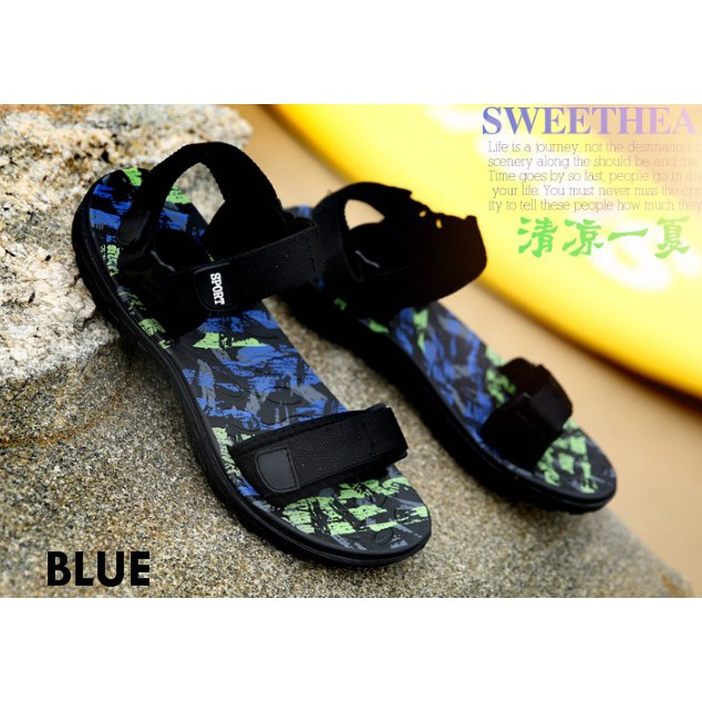 Ready Stock🔥Adidas Y3 sandals women men Korean Casual Beach Sandal hotkid  shoes  735e9ace3