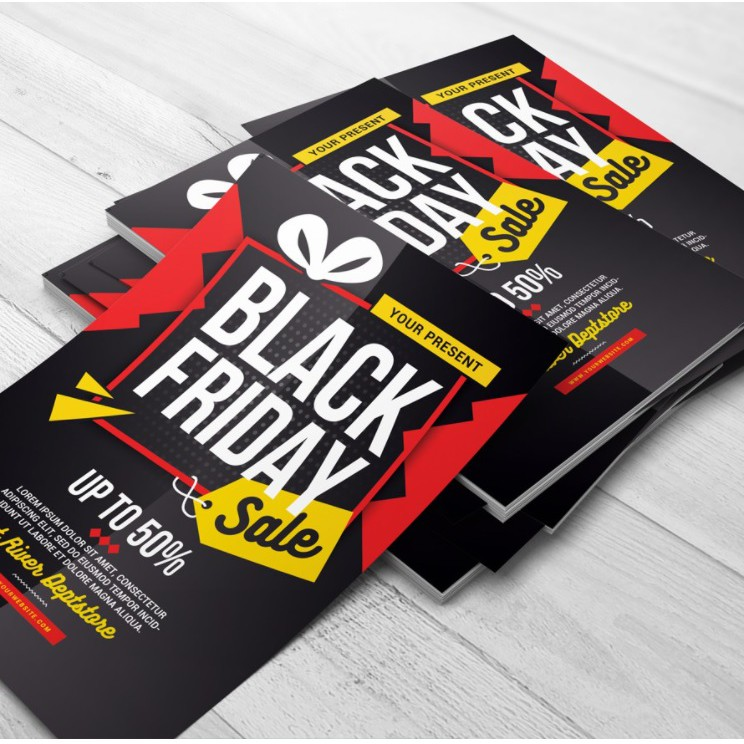 Flyer Printing Size A4 / A5 - (100's / 200's )