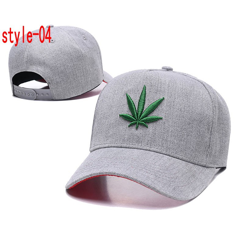 803481cc348 DGK Embroidery Weed Leaves Snapbacks