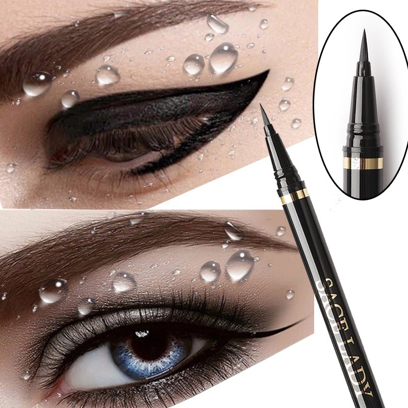 1 Pcs Charming Cat Eye Winged Eyeliner Sexy Eye Cosmetic Seal Stamp Wing Double Head Waterproof Eyeliner Pen Tool To Assure Years Of Trouble-Free Service Eyeliner Beauty Essentials