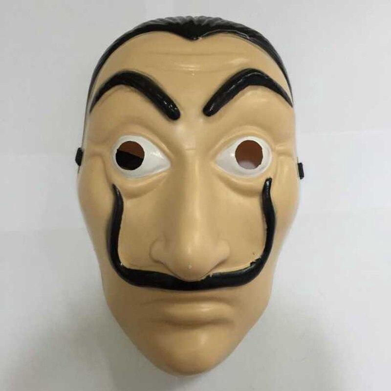 Salvador Dali Face Masks Money Heist House of Paper La Casa De Papel Dali  Mask