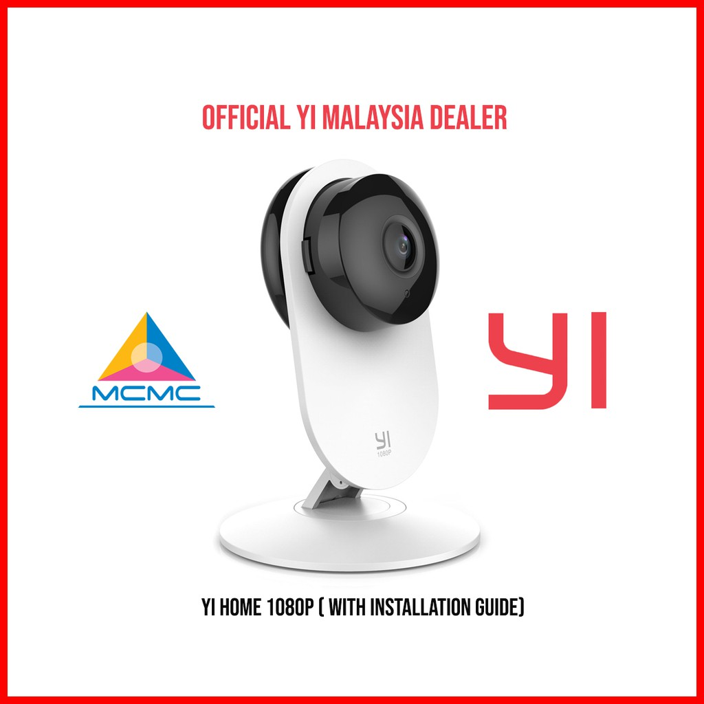 🔥9 9 SALE🔥 [OFFICIAL YI MALAYSIA] YI HOME 1080P (1yr warranty,  installation guide provided)