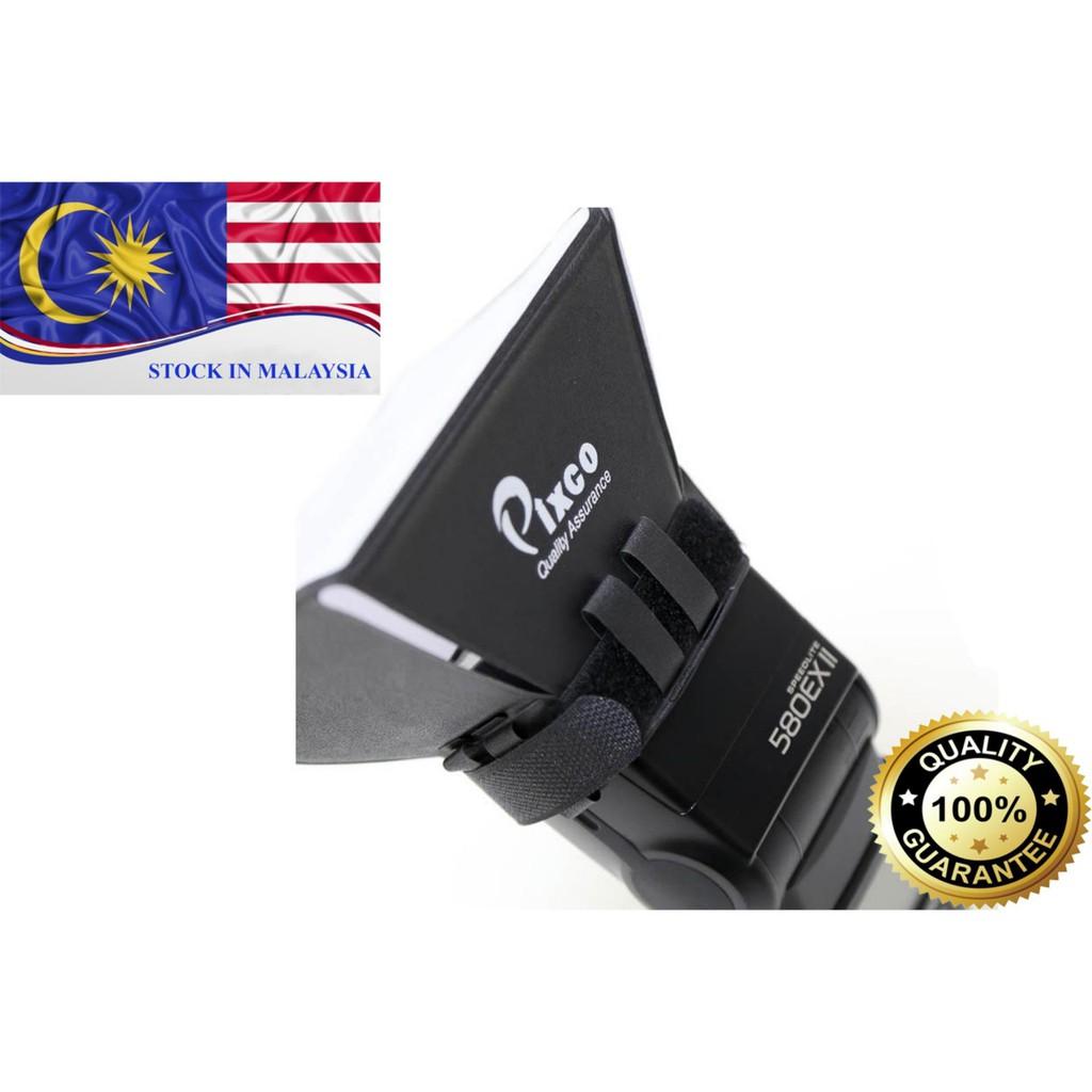 Pixco Flash Diffuser Softbox light Flash (Ready Stock In Malaysia)