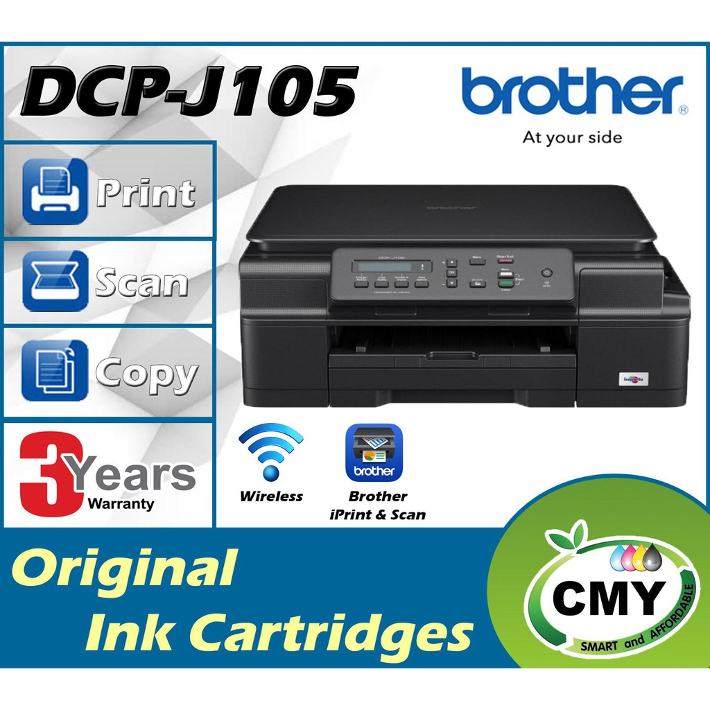 Brother DCP-J105 InkBenefit WIFI Printer