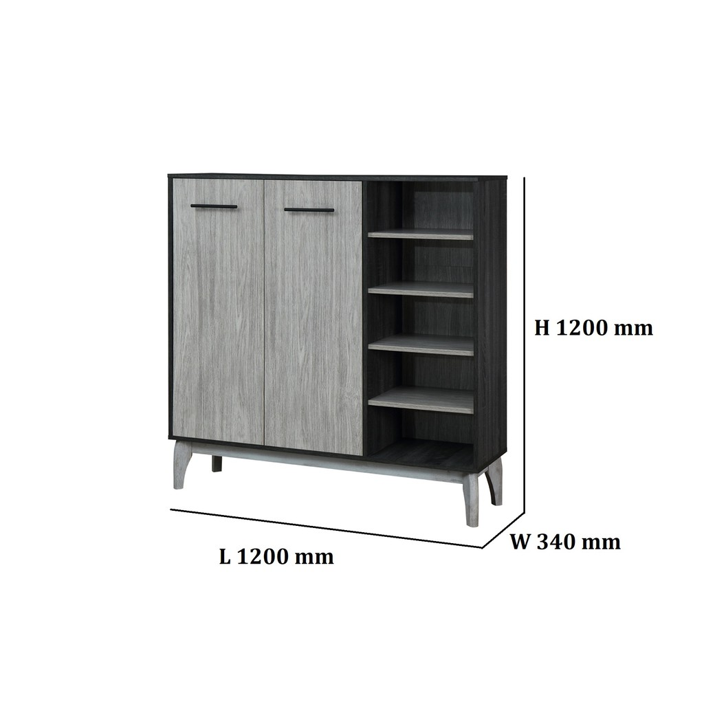 Prkika Shoes Cabinet / Storage Cabinet/ Rak Kasut/ Kabinet store
