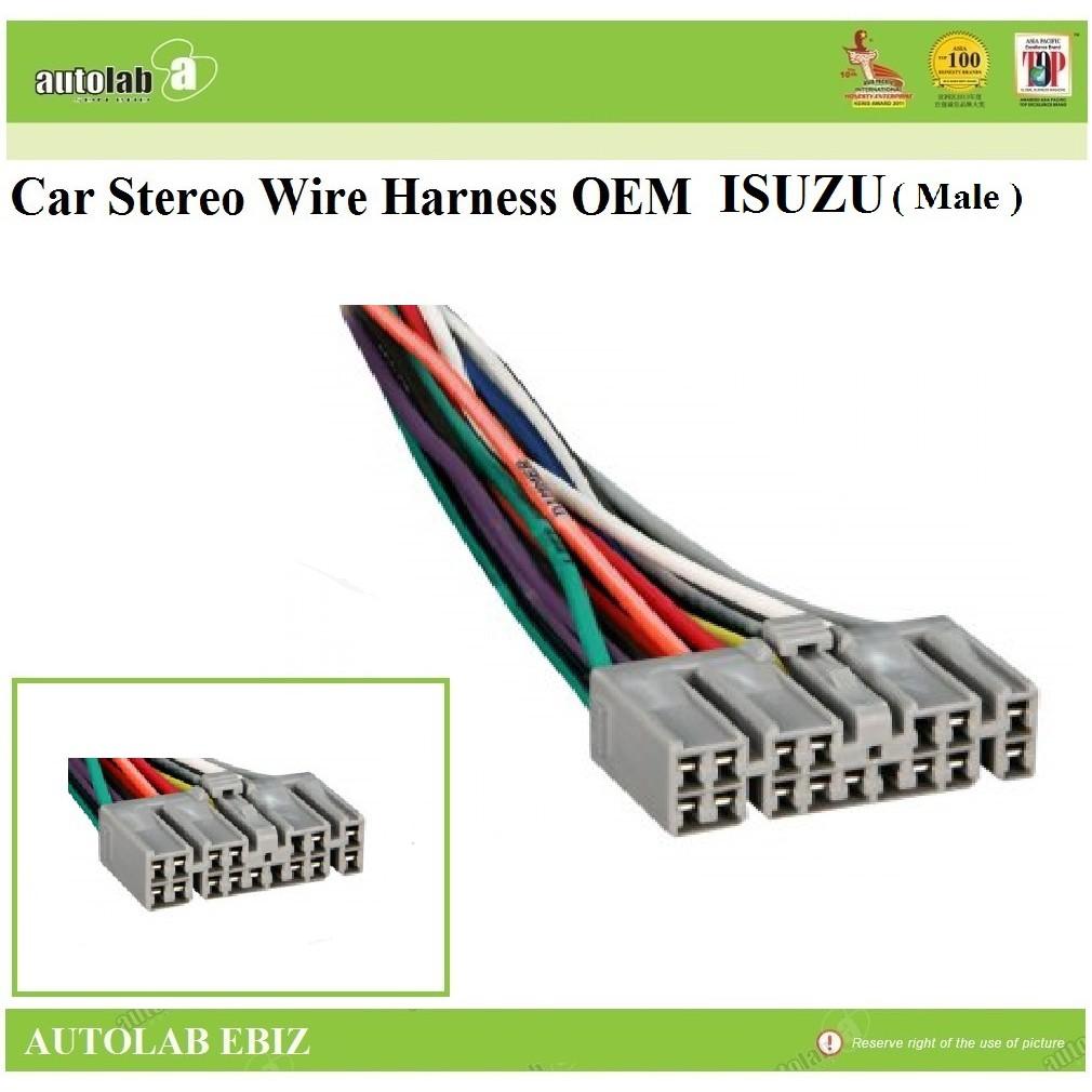 Socket Harness OEM Car Stereo Radio For Isuzu