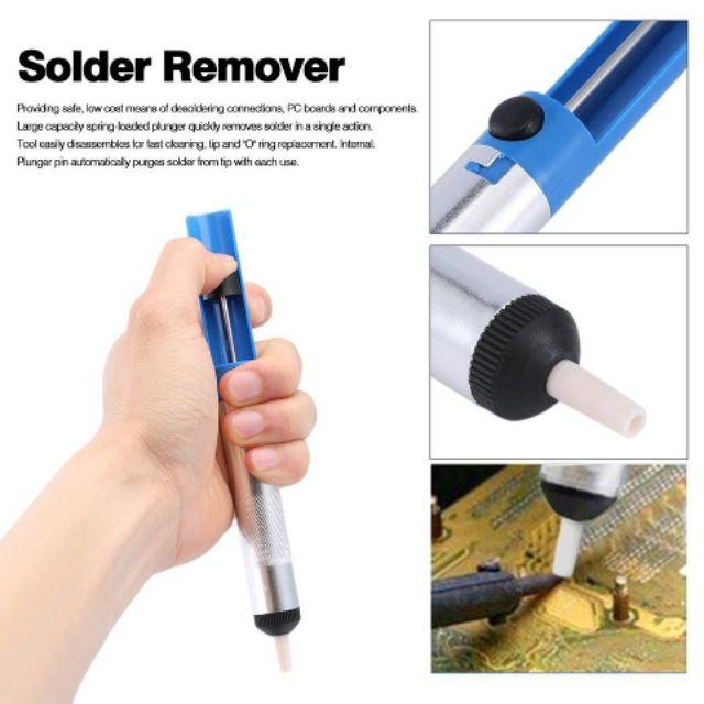 Solder Sucker Desoldering Pump Tool Removal Vacuum Soldering Iron