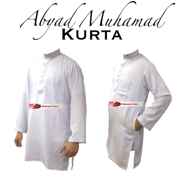 Abyad Muhamad Kurta Plain