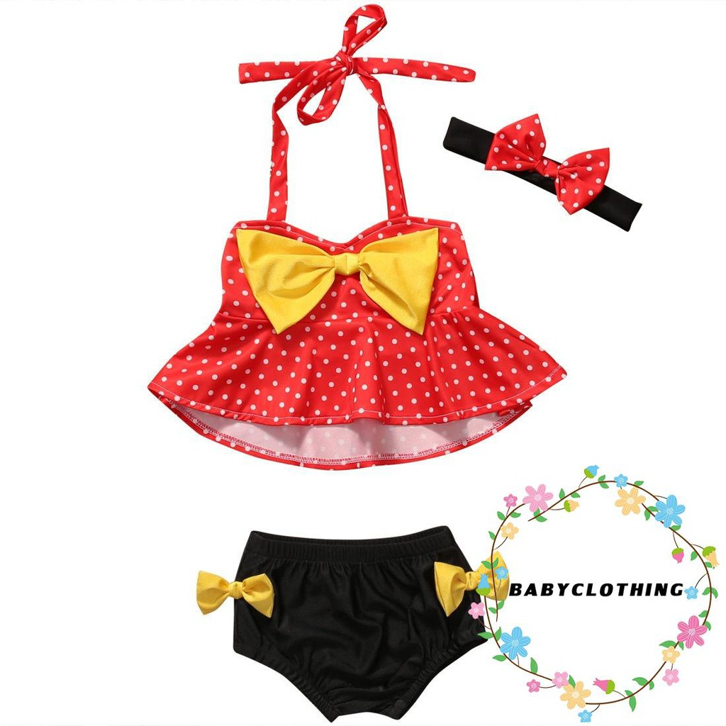 Mother & Kids Sunny Cosplay Costume Cartoon Mikey Swimwear Two-piece Bathing Suit Children Kids Beach Clothes Girls Swimsuits