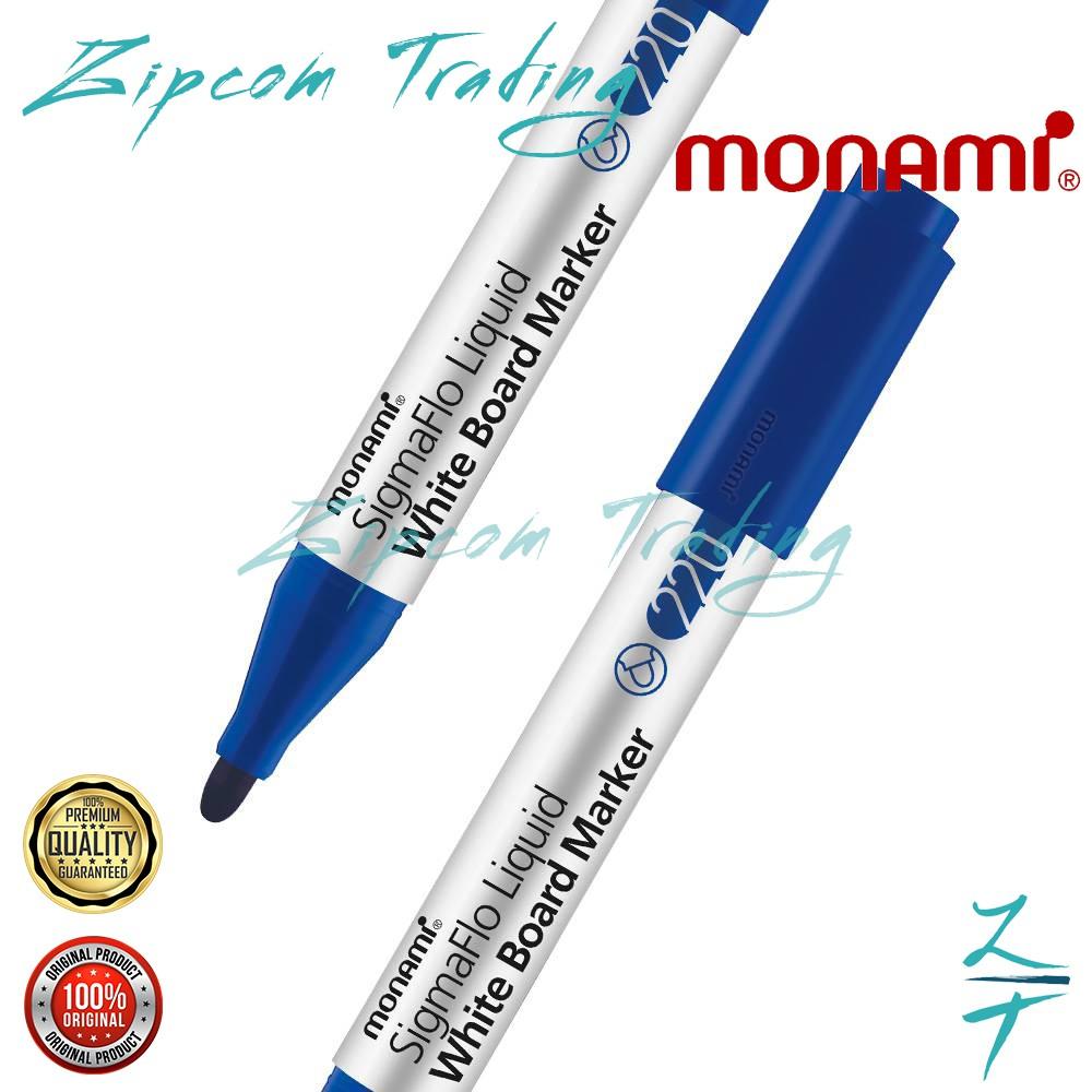 MONAMI SigmaFlo White Board Marker 220 (Bullet Nib)