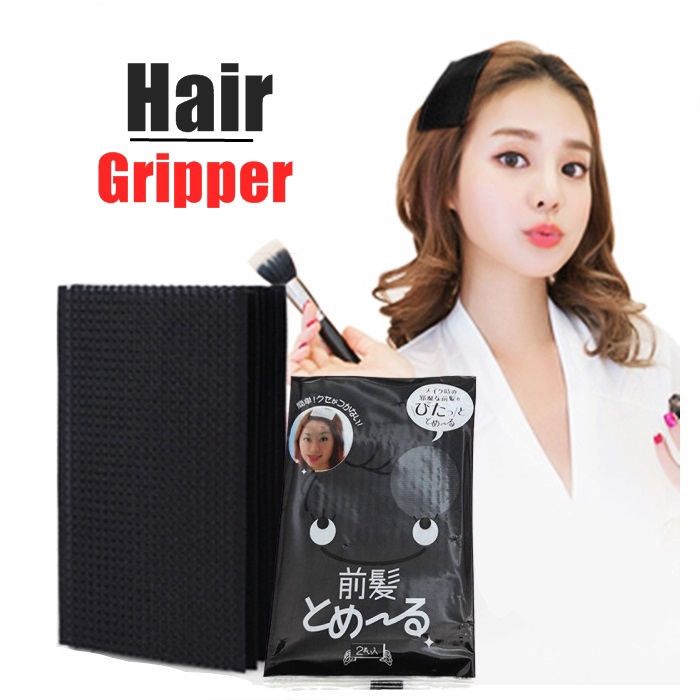 4pcs Hair Gripper Barber Grippers Women Hair Holder Magic Paste Posts Hair Sticker