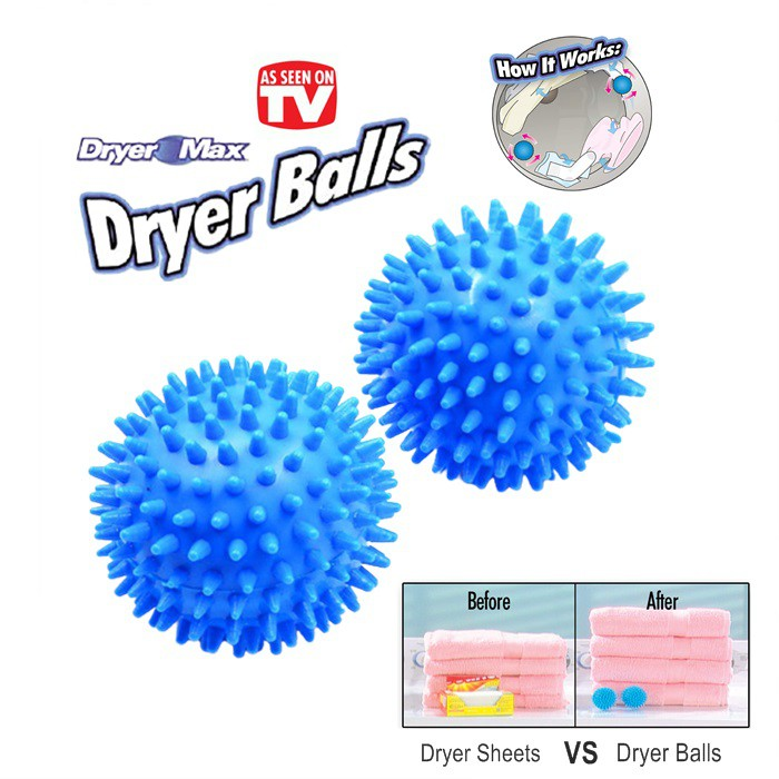Soften Clothes Washing Machine Special Blue Dryer Ball Decontamination Durable Construction Reusable Practical