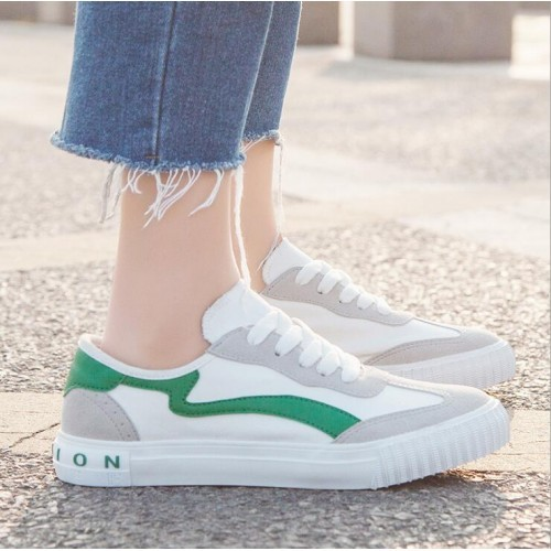 62a47ab83d9ba7 Women Korean Fashion Multicolor Flat Classical Sneakers( 3 color) HT022968