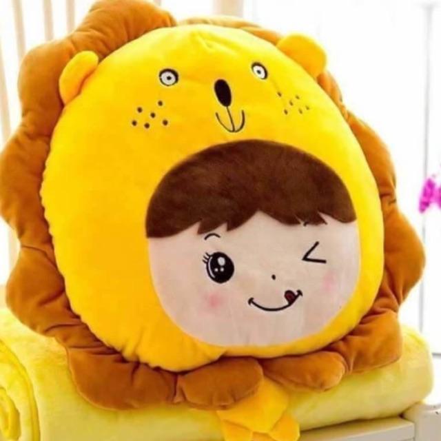 ตุ๊กตาหมอนผ้าห่ม เด็ก