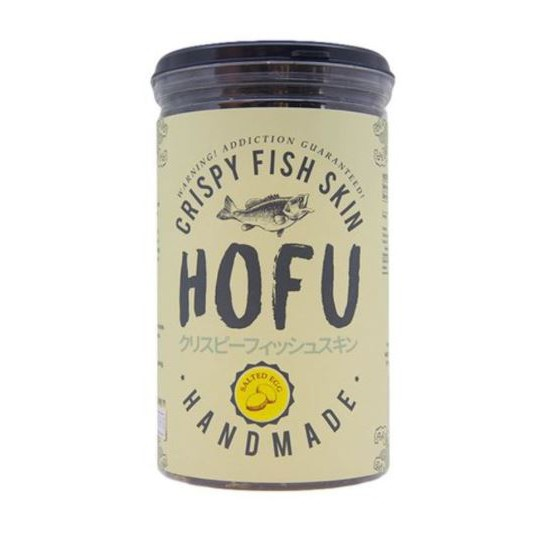 [Original] Hofu Salted Egg Crispy Fish Skin Single Bottle (145g) 黄金咸蛋香脆鱼皮