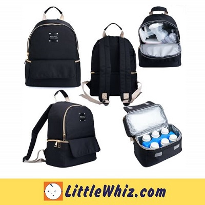 Autumnz: Cooler Bag: Delina Cooler Bag - Black