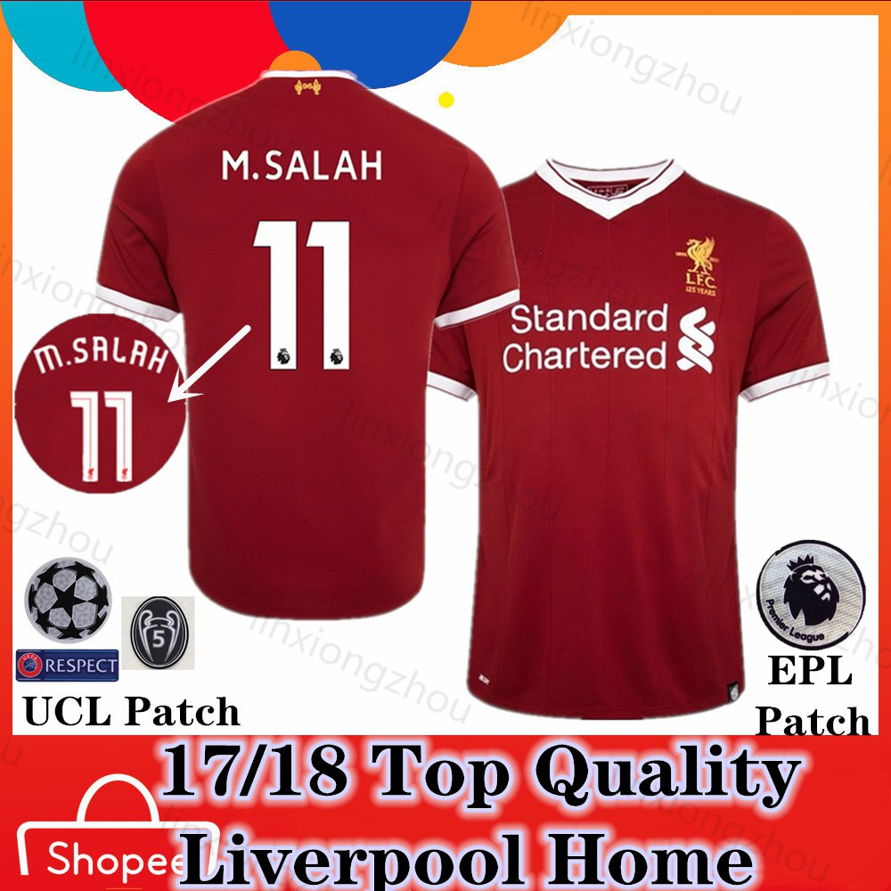 newest d9eb9 f0a8c Top Quality Liverpool 17/18 Home Jersi Football Jersey