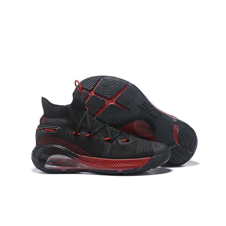 Exagerar Mantenimiento sustantivo  Ready Stock UnderArmour UA Curry 6 Black Red Men's Basketball Shoes |  Shopee Malaysia