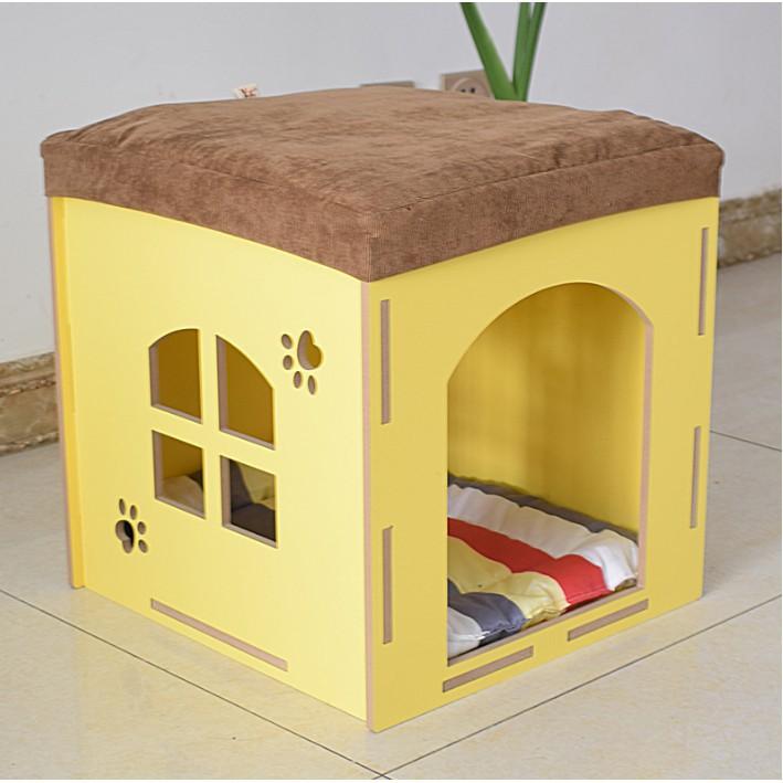 Excellent Four Dog Cat Litter Pet Shoe Bench Removable And Washable Rabbit Cage House Wood Inzonedesignstudio Interior Chair Design Inzonedesignstudiocom