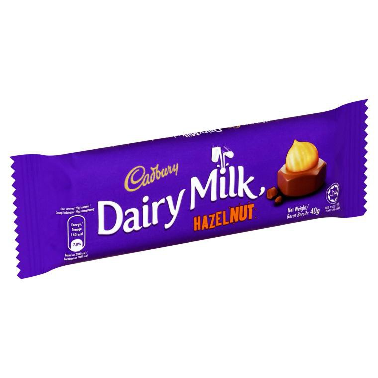 Assorted Cadbury Chocolate Bar by outer 24x 40g