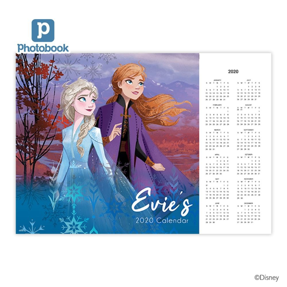 Photobook Disney Frozen A3 Poster - 5 pieces