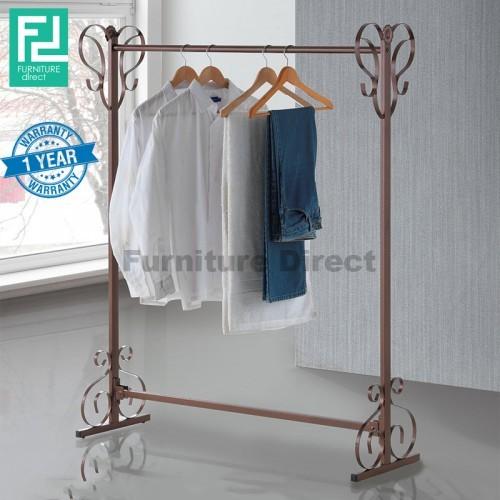 Furniture Direct BENNIS BS1002 wrought iron clothes hanger towel rack