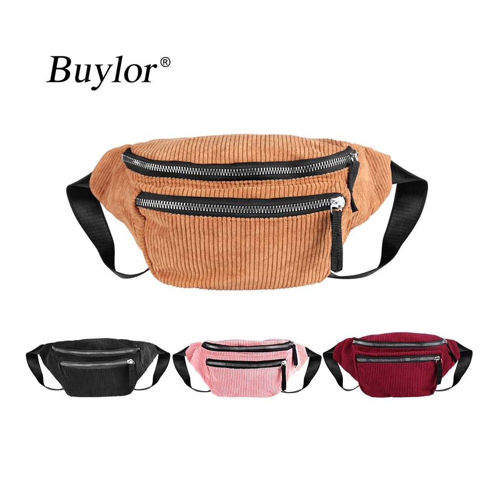 Buylor Corduroy Waist Pack Designer Belt Bag Women Fashion Zipper Chest Bag Fanny Pack Hot Bum Bag Vintage Style Phone Pouch Shopee Malaysia,Contemporary Gas Fireplace Designs With Tv Above