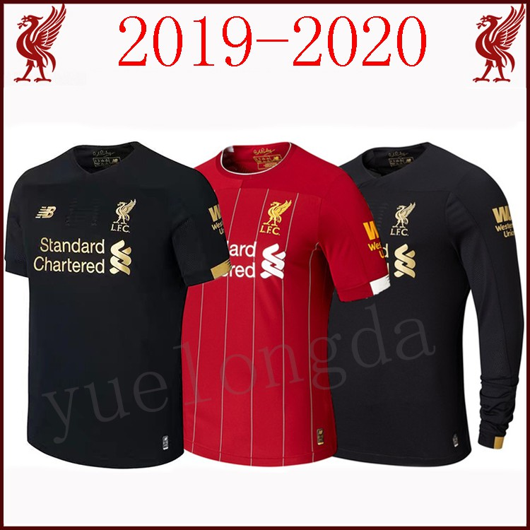 7146929ae LIVERPOOL BLACKOUT SPECIAL JERSEY WITH M.SALAH 11 NAME AND NUMBER ...