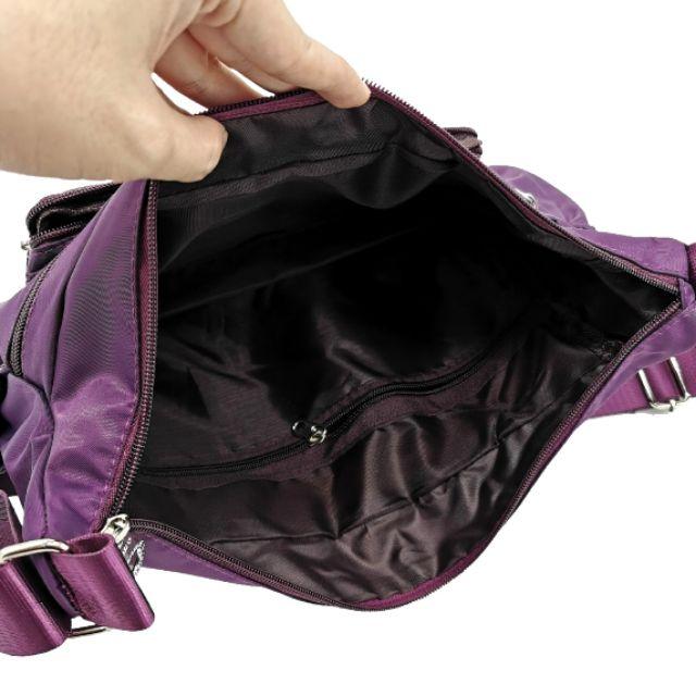[READYSTOCK] Women Korean Fashion Waterproof Nylon Sling Shoulder Bag Large Capacity Travel Messenger Bag