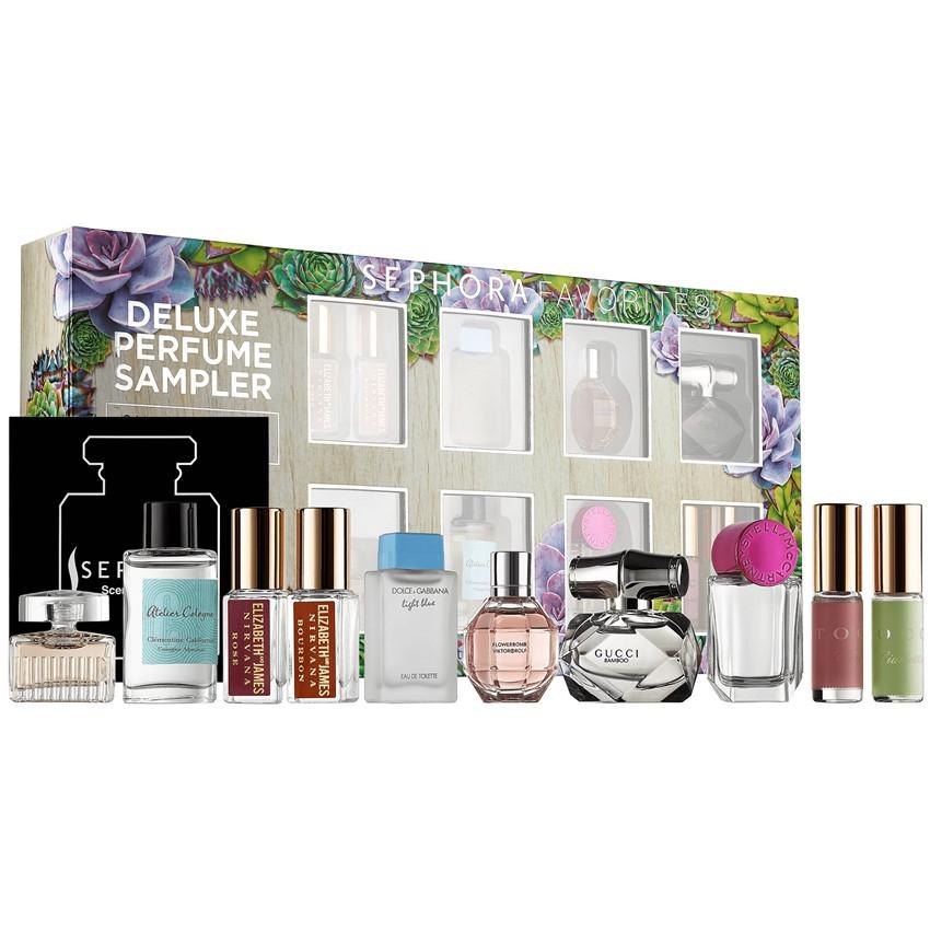 30f02aaabf7 Sephora Favorites  Deluxe Perfume Sampler (10 Miniatures Only No Exchange  Cert)