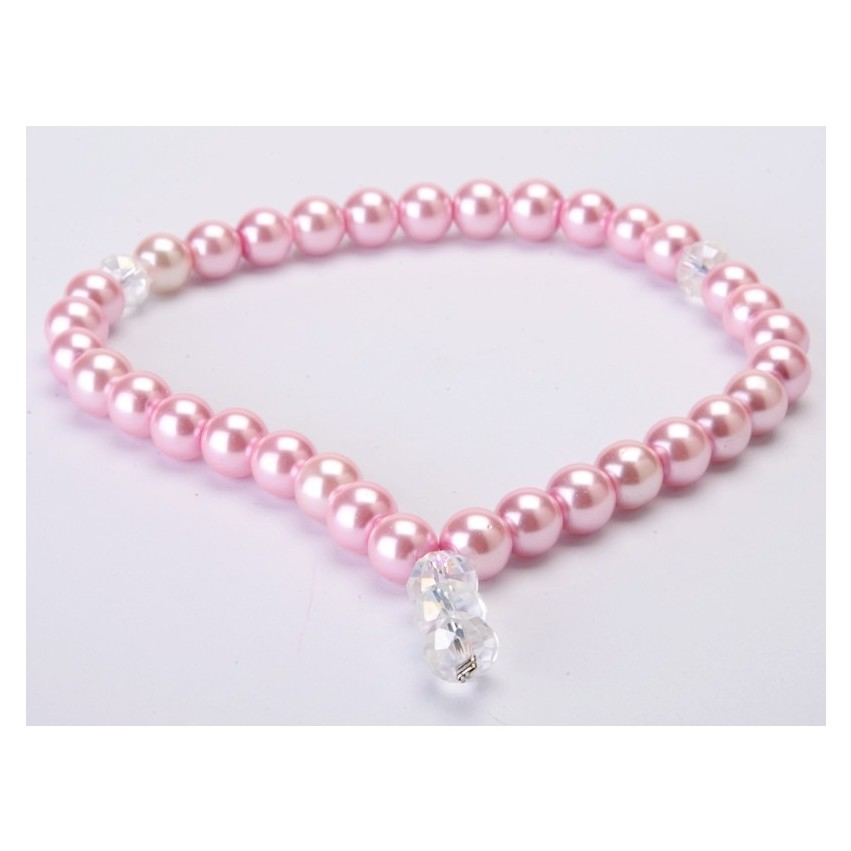 Tasbih Buatan Mutiara (Soft Pink)