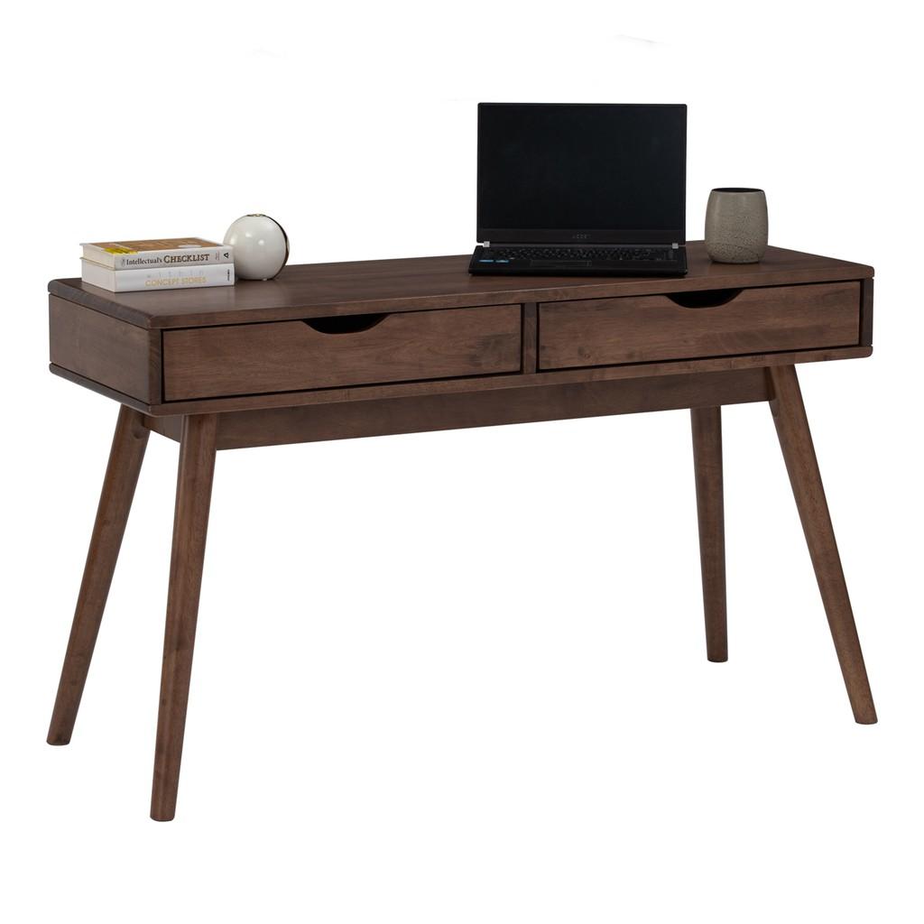 Furniture Direct Lamar 4 feet solid wood working desk console table/ meja berlajar