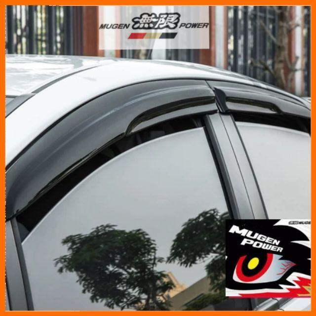 Perodua Aruz Door Visor Mugen Style