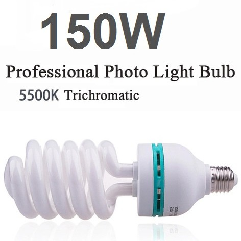 150w 5500k E227 Photo Studio Bulb Video Light Photography Daylight