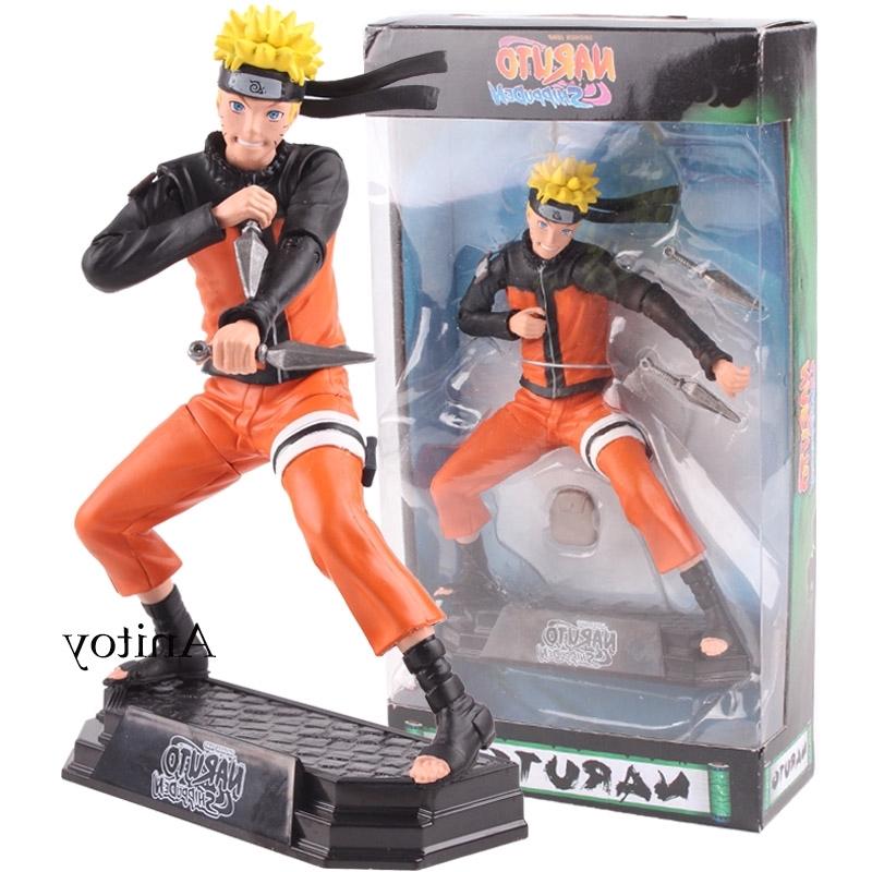 Stock Anime Naruto Action Figures Shippuden Seventh Hokage Naruto Action Figures Uzumaki Model Toy Gifts Shopee Malaysia