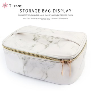 2925f7cd392f Cosmetic Storage Case With Mirror Makeup Bag Travel Folding Bag Nail ...