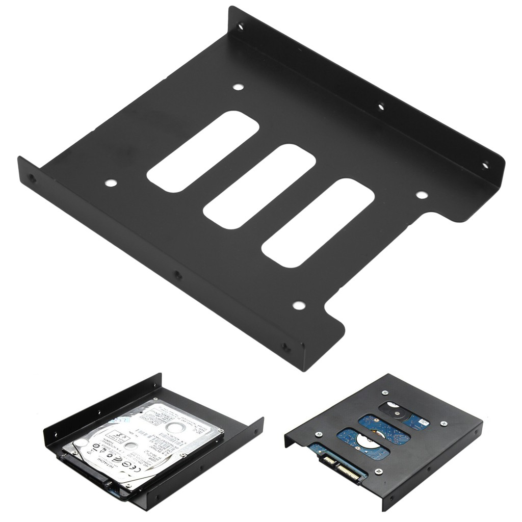 """Transcend SSD HDD Mounting Bracket 2.5/"""" to 3.5/"""" drive bay adapter for HP"""