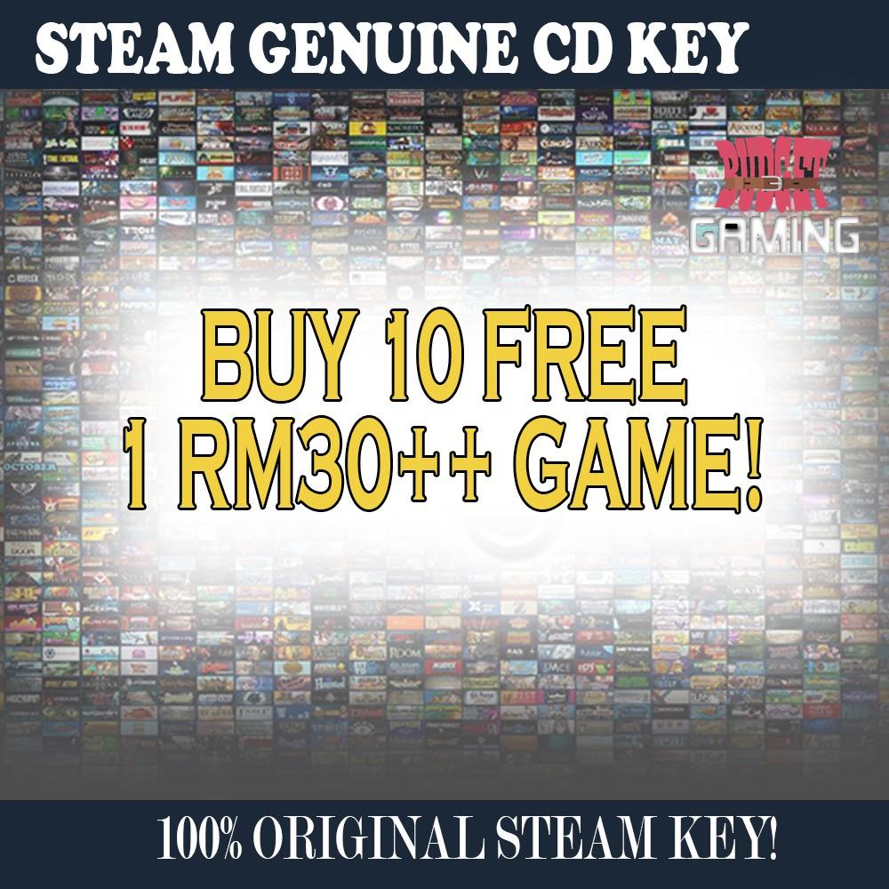 Steam Random Game Buy 10 Free 1 Premium Game