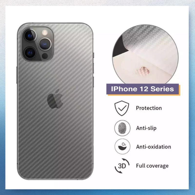 For IPhone 12 12Pro Max Sticker Back Protector Skin for Iphone 12 mini phone12 Pro Back Cover Film Screen Protector