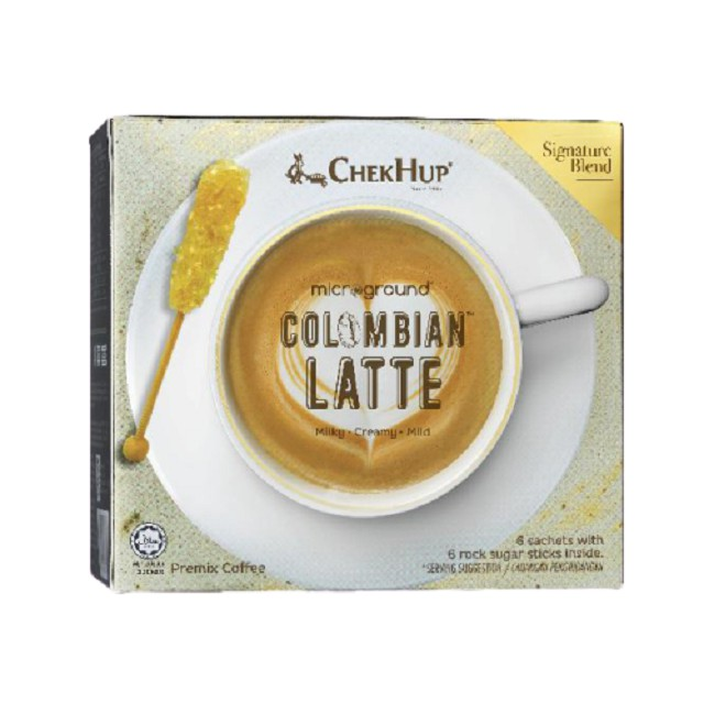 Chek Hup Microground Colombian Latte (28g x 6s) [Bundle of 8]