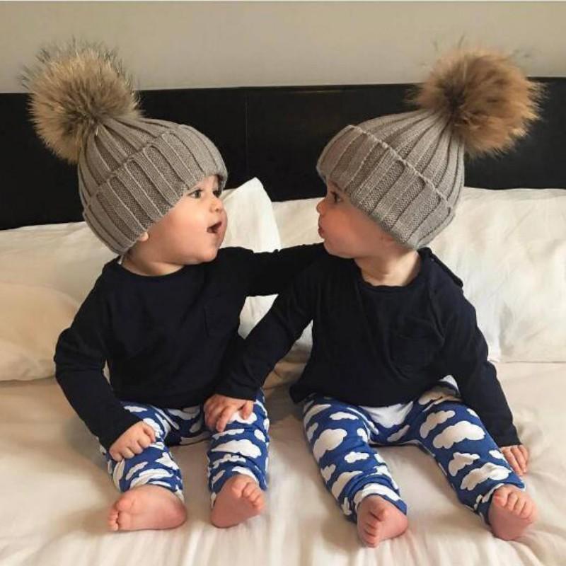Cat Baby Cap Winter Warm Knitted Children s Cartoon Beanie Baby Hat ... b4215c62d8e0