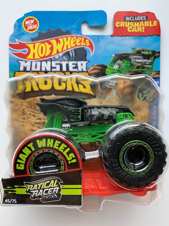 Hot Wheels Monster Trucks Ratical Racer 45 75 Animal Attack 6 10 Shopee Malaysia