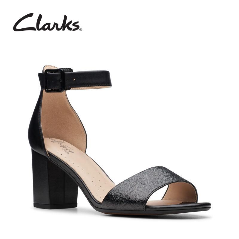 Ladies Clarks Elegant Stiletto Heeled Sandals Laureti Grace