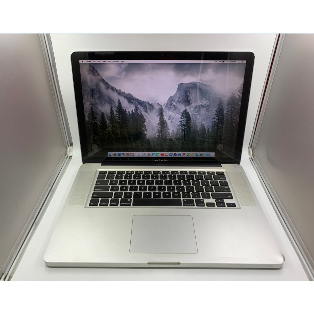 [USED] MacBook Pro 15 inch Early 2011, Core i7 2 0GHz, 4GB RAM, 500GB HDD,  AMD Radeon HD 6490M