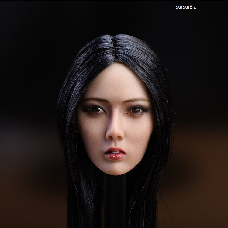 IN STOCK 1//6 Asian Female Head Sculpt SDH007B For PHICEN TBLeague Figure U.S.A