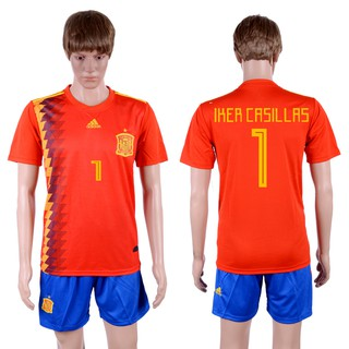low priced 6de51 0a6e7 Adidas World cup 2018 Spain Jersey red men shirt and pants ...