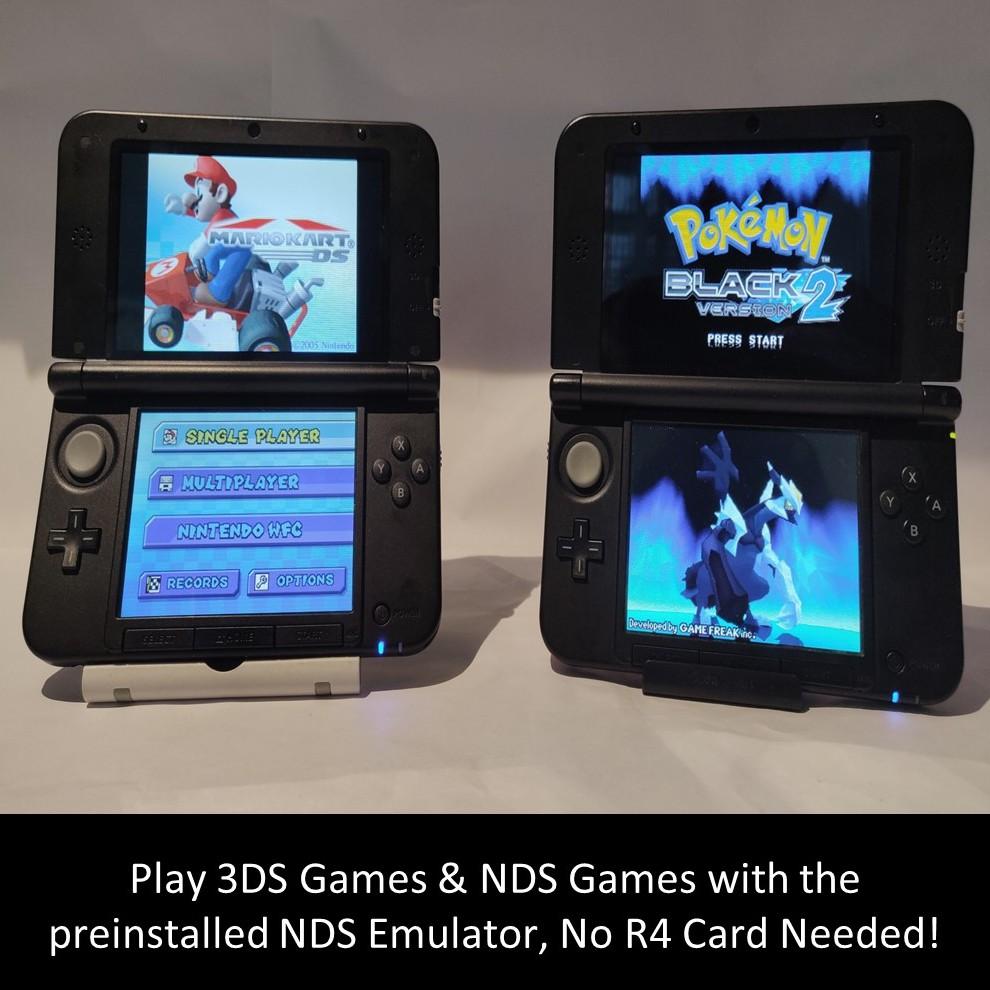 Nintedo 3DS /New 3DS XL Console + 25 Games + Pokemon Ultra