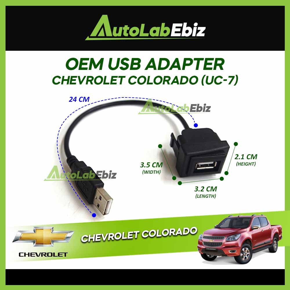 OEM USB Adapter Chevrolet Colorado【UC-7】