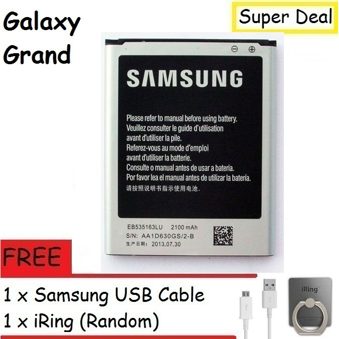 Samsung Galaxy Grand I9082 Battery With Free Gift
